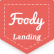 Foody Restaurant HTML5 Landing Page Template - Food Retail