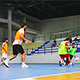 Playing Football in Indoor Sports Facility - VideoHive Item for Sale