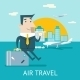 Businessman Character Travel Lifestyle - GraphicRiver Item for Sale