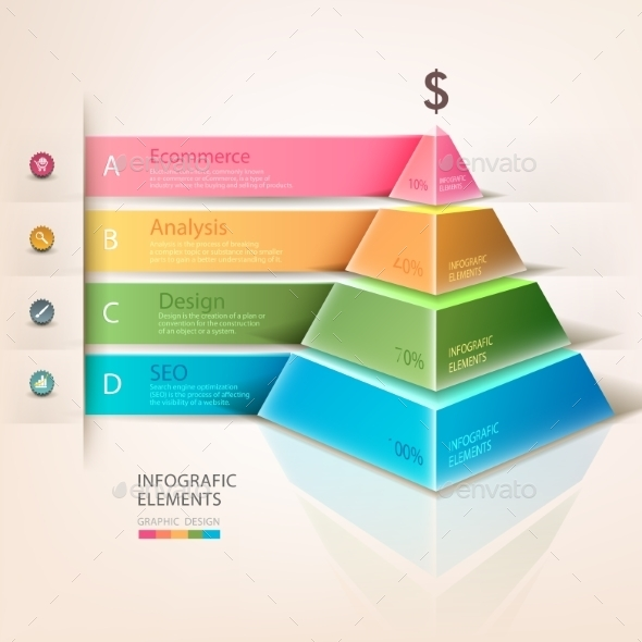 GraphicRiver Pyramid Infographic 9774195
