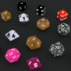 6+6 RPG D&D dice set/collection (UV Mapped, with U - 3DOcean Item for Sale