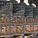 Religious Buddhist prayer wheels (center focus, rest blurred)  - PhotoDune Item for Sale