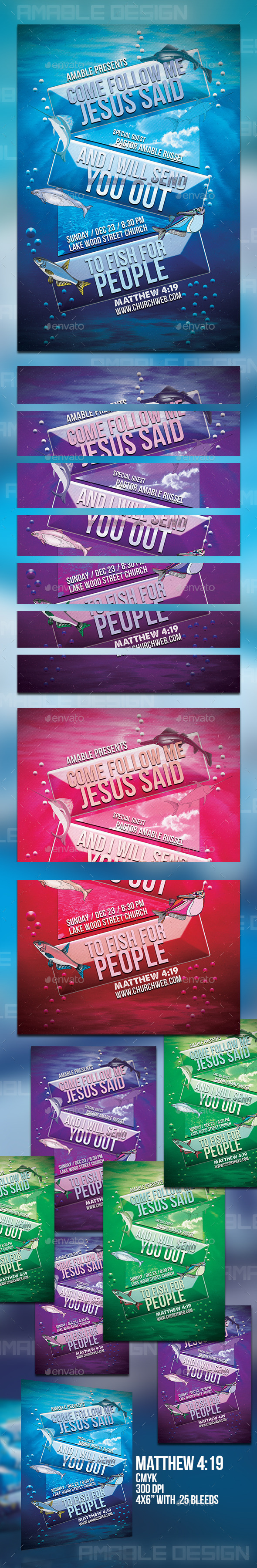 GraphicRiver Fishers of Men Church Flyer 9774840