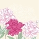 Background with Pink Peony - GraphicRiver Item for Sale