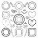 Hand-Drawn Floral Frames - GraphicRiver Item for Sale