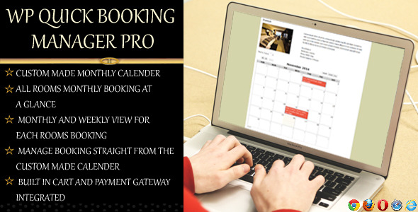 CodeCanyon WP Quick Booking Manager Pro 9775460