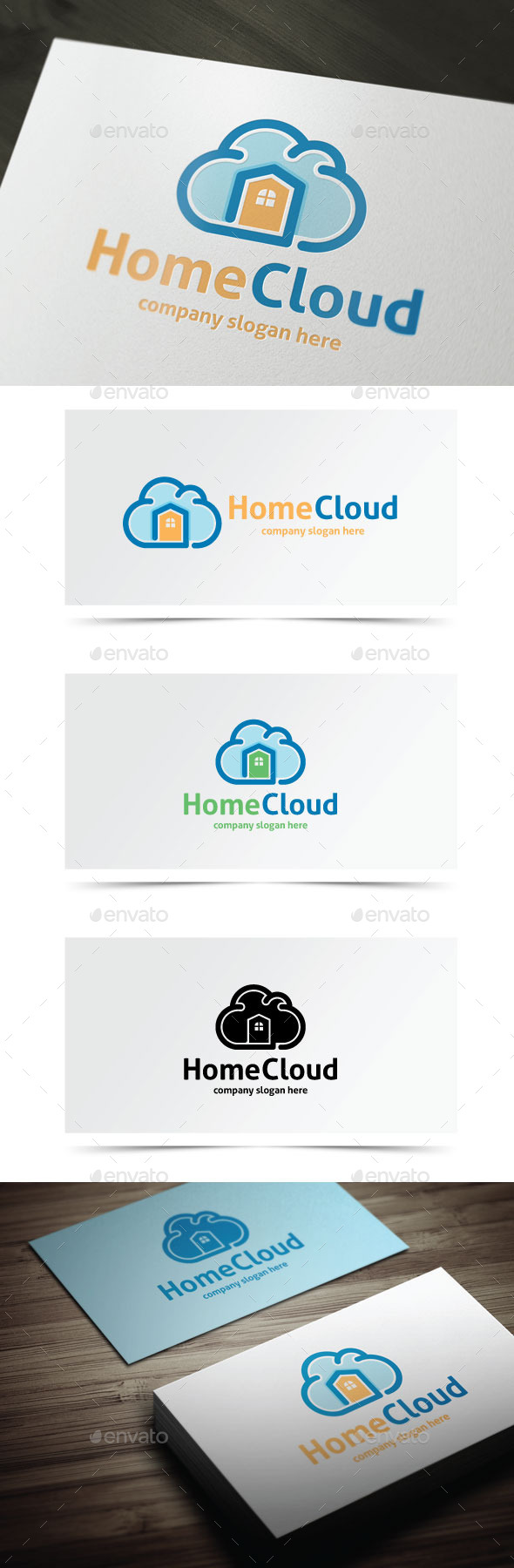 GraphicRiver Home Cloud 9777187