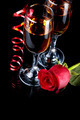 Rose with glasses and a red tape - PhotoDune Item for Sale