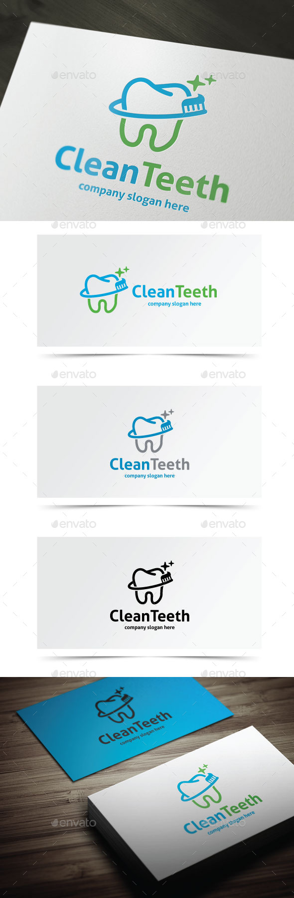 GraphicRiver Clean Teeth 9777248