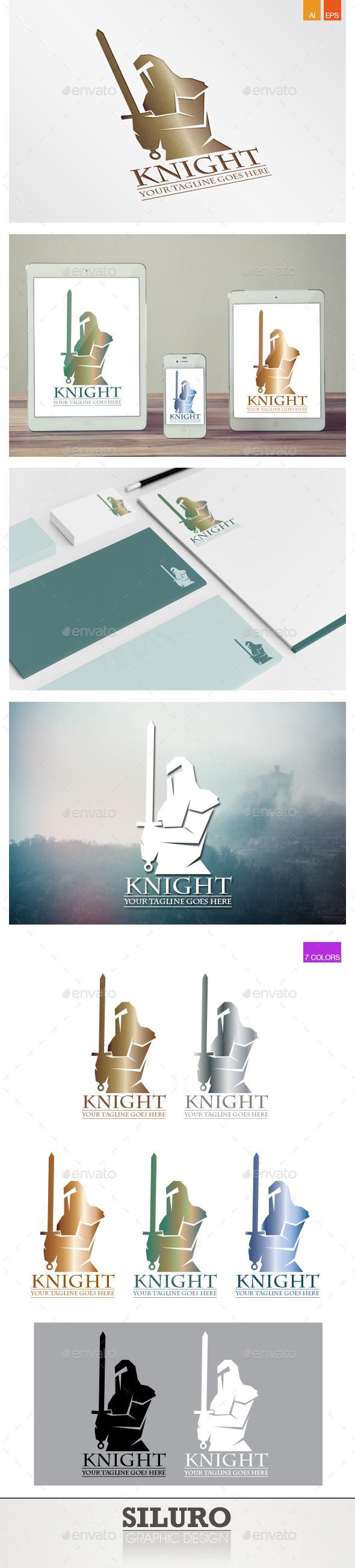 GraphicRiver Knight Logo 9777325