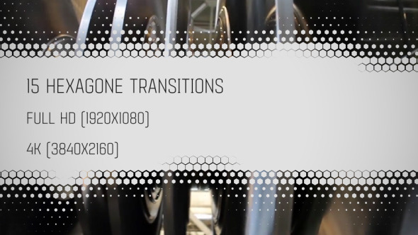 15 Hexagon Transitions