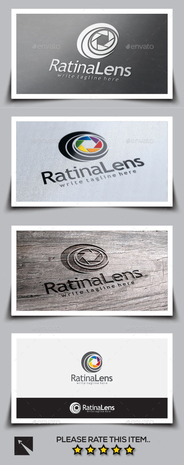 GraphicRiver Ratina Lens Logo Template 9777504