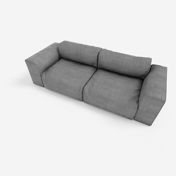 3DOcean sofa 2seats #01 9763811