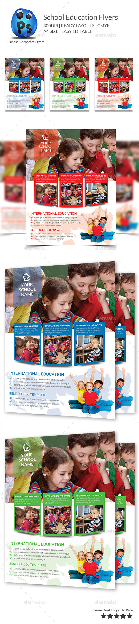 GraphicRiver Junior School Education Flyer Template 9778051