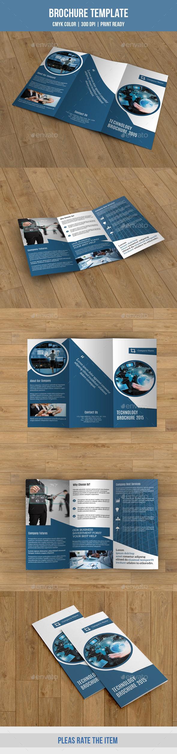 GraphicRiver Corporate Trifold Brochure-V200 9778055