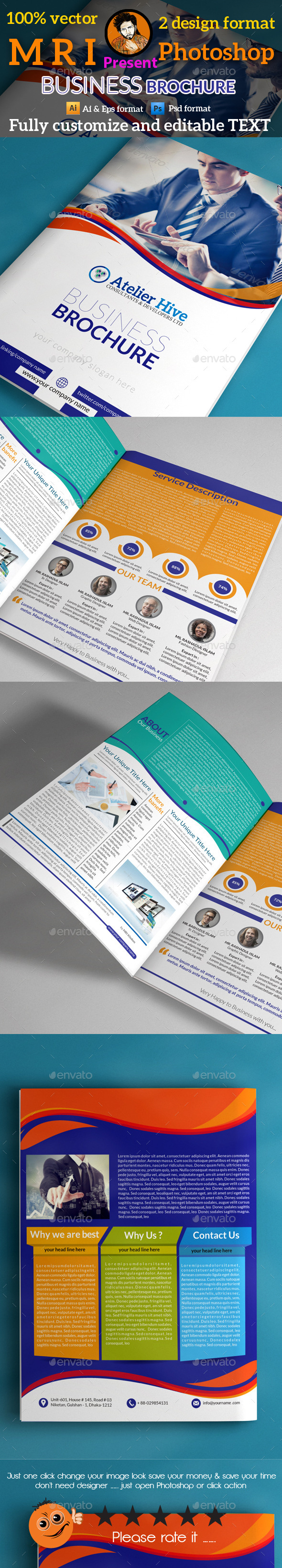 GraphicRiver Business Brochure 9712622