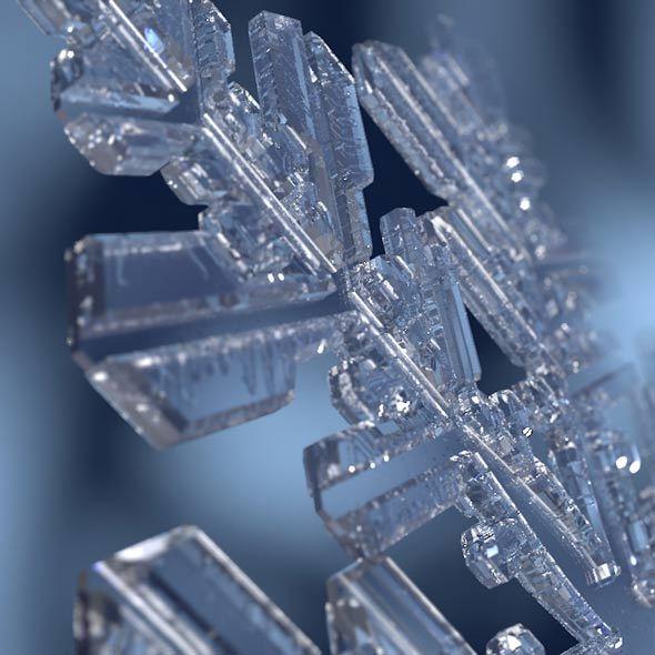 3DOcean Snowflake 9778404