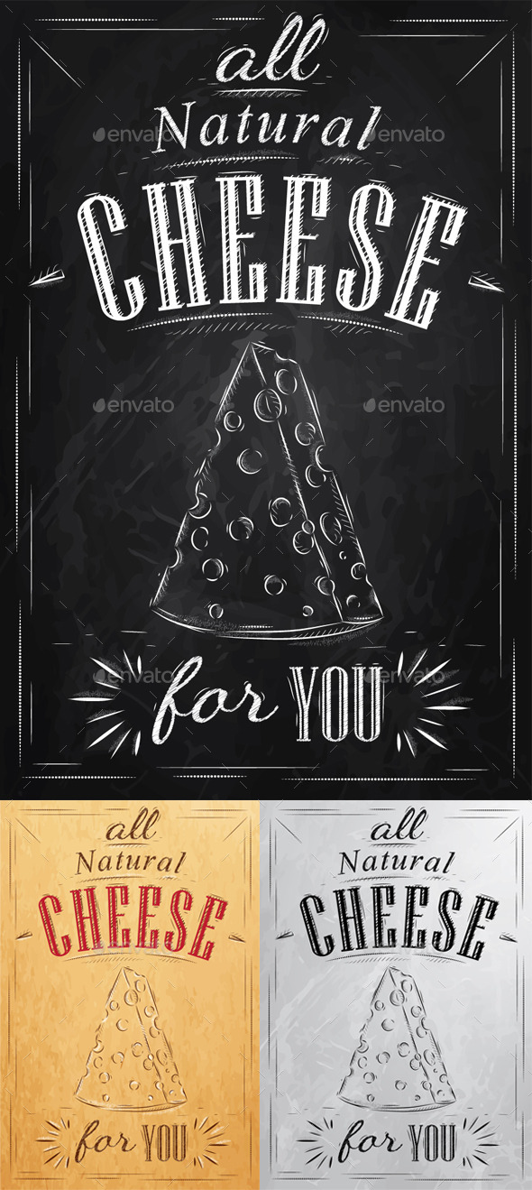 GraphicRiver Poster Cheese 9778621