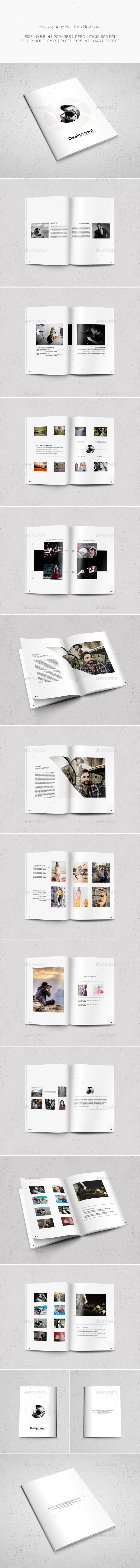 GraphicRiver Photography Portfolio Brochure 9778648