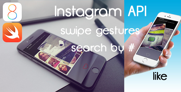 CodeCanyon InstaSwipe Instagram App with Swipe Gestures 9778703