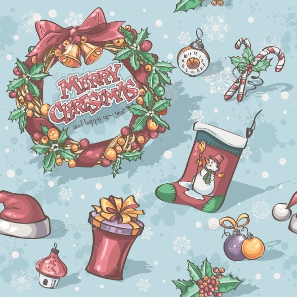 GraphicRiver Christmas and New Year Holidays 9778706