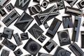 random letters in metal type - PhotoDune Item for Sale