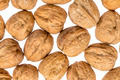 English walnuts on white background - PhotoDune Item for Sale