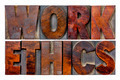 work ethics word abstract - PhotoDune Item for Sale
