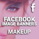 Facebook Image Banners - Makeup - GraphicRiver Item for Sale