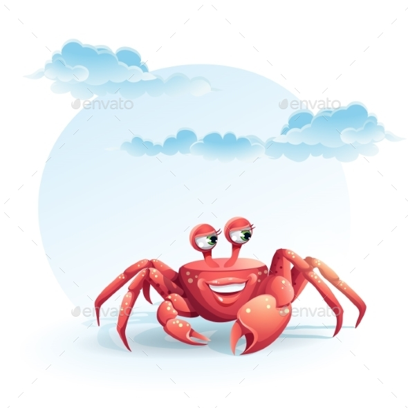 GraphicRiver Crab Illustration 9779595