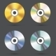 CD Icons Set - GraphicRiver Item for Sale