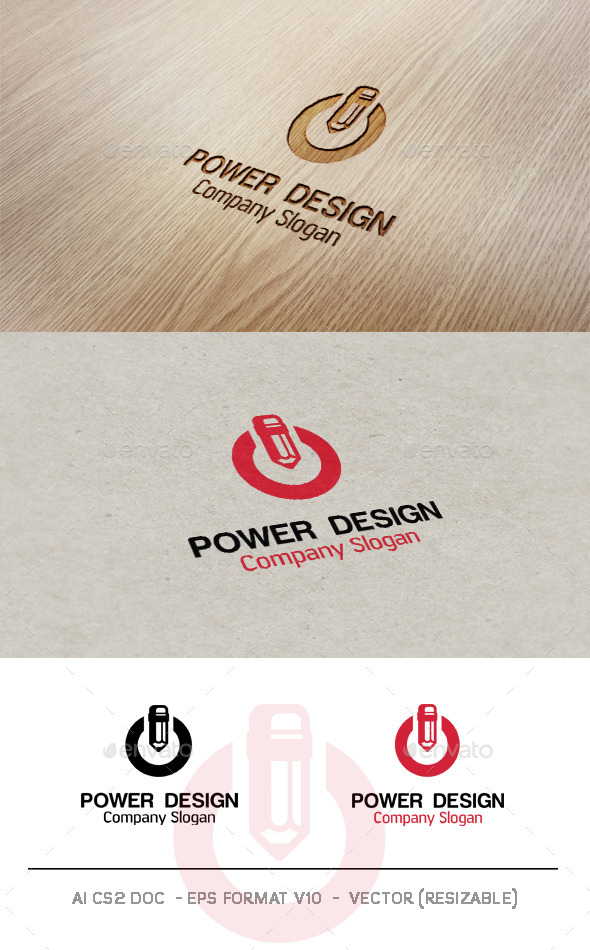 GraphicRiver Power Design Logo 9779995