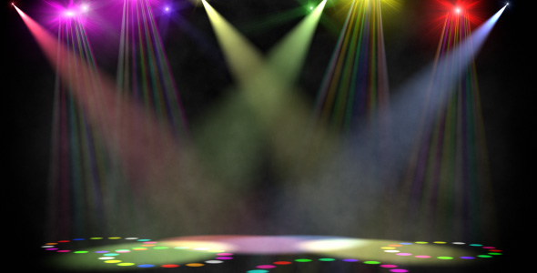 VideoHive Disco scene loop 124297
