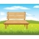 Bench on Nature - GraphicRiver Item for Sale
