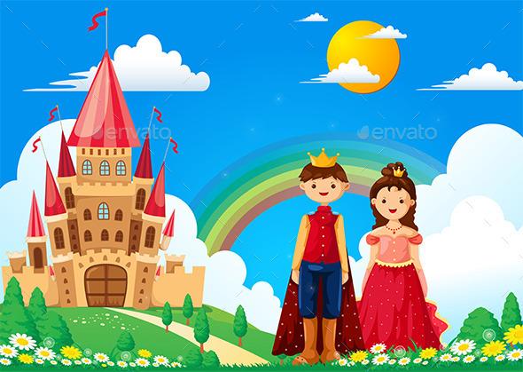 GraphicRiver Princess Castle 9728099