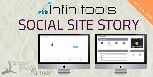 CodeCanyon Social Site Story InfiniTools 9756423