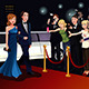 Couple Going to a Red Carpet Event - GraphicRiver Item for Sale