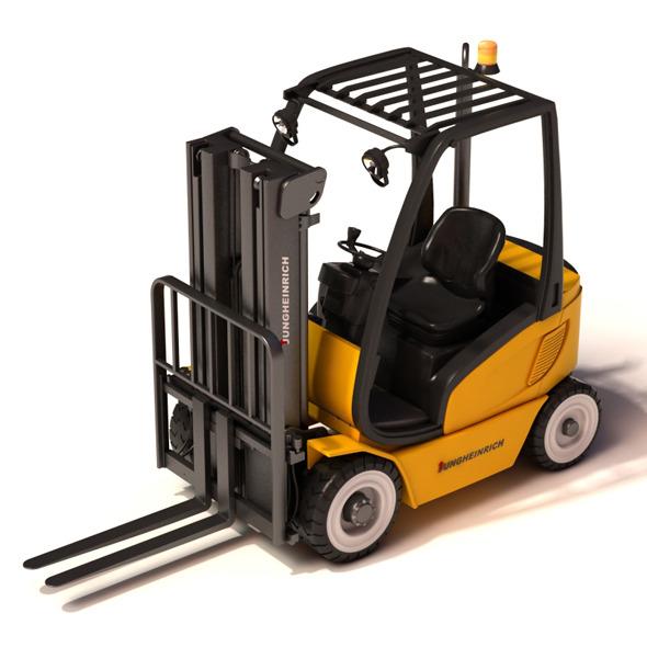 3DOcean Forklift 9781737