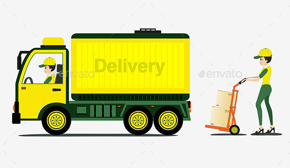 GraphicRiver Freight Car 9781763