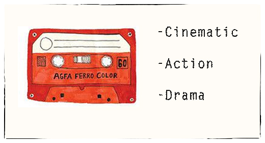 Cinematic, Action, Drama