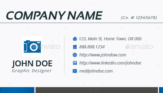 3 in 1 deal resume template icons business card