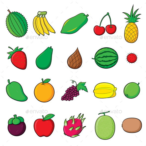 GraphicRiver Fruits 9782031