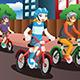 Kids Riding Bikes - GraphicRiver Item for Sale