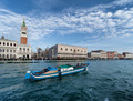 sightseeing of Saint Mark's campanile and dodge's palace in Venice - Italy - PhotoDune Item for Sale