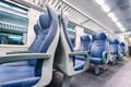 interior view of a modern train - PhotoDune Item for Sale