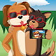 Dogs Taking a Selfie - GraphicRiver Item for Sale