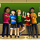 Multi-Ethnic Students in the Classroom - GraphicRiver Item for Sale