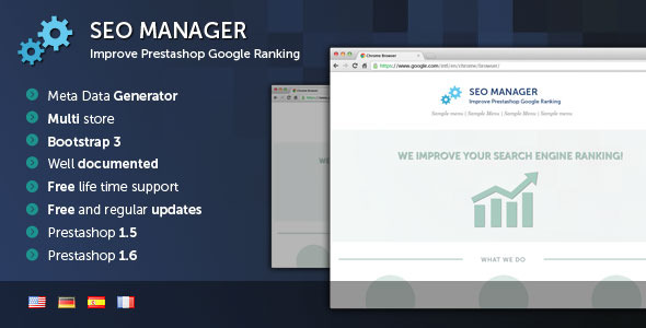 Prestashop SEO Manager - CodeCanyon Item for Sale