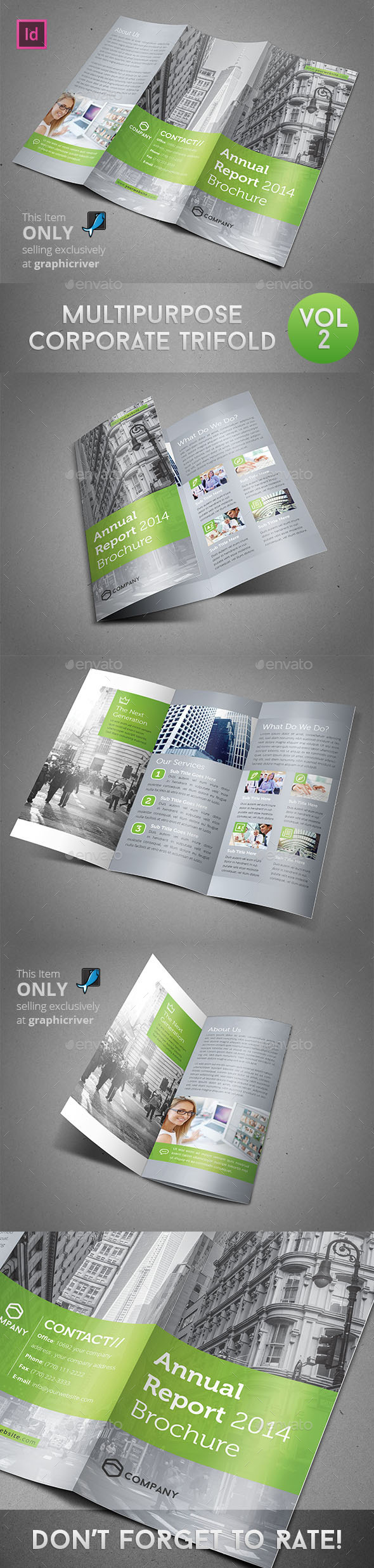 Multipurpose Corporate Trifold Vol 2