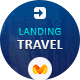 Travel landing page for pagewiz